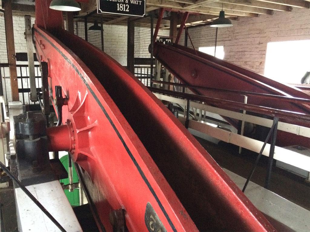 Engine beams