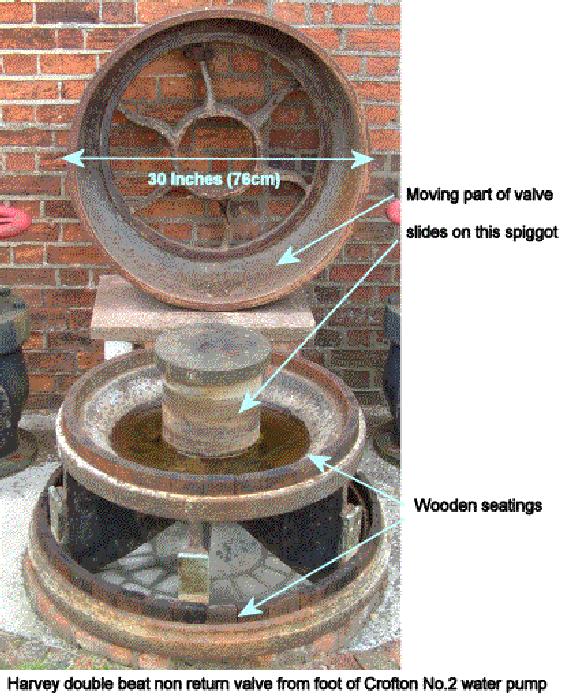 Non return water valve