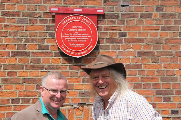 Crofton awarded Red Wheel in 2016
